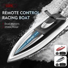 RC Ferngesteuertes Renn-Boot, Schiff, Boat, Speedboot Modell mit Akku Schwarz