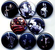 John Coltrane 8 NEW buttons pins badges free jazz saxophone love supreme
