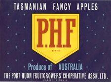 "SALE- Vintage Tasmania Apple Case Labels Fruit Art Poster ""baker's dozen""-M (13)"