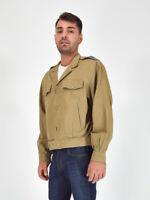 VALENTINO Giacca Vintage di Cotone Beige Casual Veste M Uomo Jacket Man