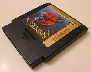 Shinobi (Nintendo Entertainment System NES, TESTED)