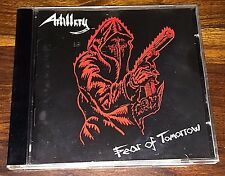 Artillery - Fear Of Tomorrow CD 1 PRESS 1998 Axe Killer Records 3038632 ORG TRAY