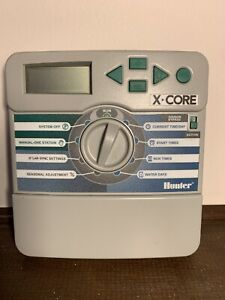 Hunter X-Core XC-800i Residential Irrigation Controller Timer 8 Zones NO CORD