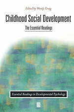 Childhood Social Development: The Essential Readings (Essential Readings in Deve