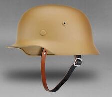 WWII GERMAN ARMY AFRIKA KORPS DAK M35 HELMET STEEL HELMET