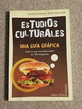 Estudios Culturales Una Guia Grafica By Sardar and Loon Spanish Textbook (Good)