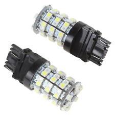 2X New 3157 Switchback Dual Color White/Amber 60LED Turn Signal Light LED Bulbs