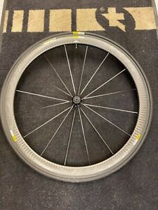 mavic cosmic pro carbon exalith front wheel
