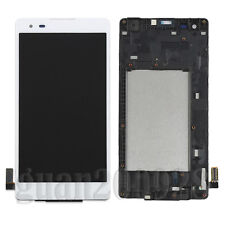 White LCD Screen Touch Digitizer + Frame For LG Tribute HD LS676 K200MT K6B F740