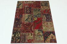 Tapis persans persane/orientale traditionnelle avec un motif Patchwork pour la maison