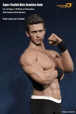 Steel Skeleton 1/6 Flexible Male Seamless Body Musclar X Man 72 Figure toy gift