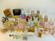 Lot Of Calico Critters Animals Furniture & Accessories