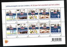 Nederland NVPH 3013 Vel Persoonlijke zegel Jan Linders 2013 Postfris