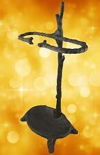 Schirmständer rustikal braun Jugendstil Eisen Guss Antik Dekor Vintage Deko