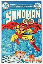 DC - SANDMAN #1 - Last Simon & Kirby Collaboration - VF/NM 1974 Vintage Comic