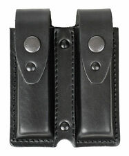 Twin Mag Magazine Pouch for Pistol PM (Makarov) Genuine leather, black