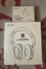 Trond TD-BH01 Over Ear Atpx low latency headphones with BT-DUO transmitter...