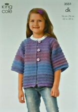Children's Clothing DK/Double Knit Sweaters Patterns