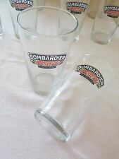 Pair Hiball Hi Ball Mixer Glasses Branded Bombardier