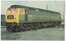 Class 47 Loco 47256  At Old Oak Common Shed PPC, May 1976, Unposted