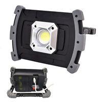 LED Work Light COB Emergency Spotlight USB Rechargeable For Camping 3.7V