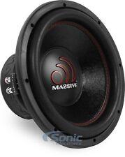 "NEW! Massive Audio GTX 124 1400 Watts 12"" Dual 4 Ohm Car Audio Subwoofer Sub"