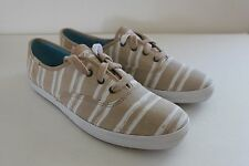 Keds Champion Women's Washed Beach Stripe Sneakers Shoe Size 8 M NIB