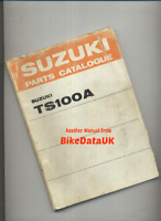 Suzuki TS100 KLMA (73-76) Factory Parts List Catalogue Book Manual TS 100 CG43