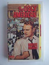 The Ugly American VHS Video Tape Marlon Brando
