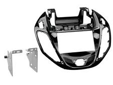 Radioeinbauset Doppel DIN Blende Adapter Ford B-Max JK8 piano black
