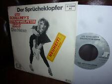 """Ute Schallmey's Struwwelpeter Band, Sprücheklopfer, NDW, Single, 7"""" PR-COPY"""