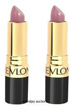 Lot of 2 New and Sealed Revlon Super Lustrous Lipstick Pearl Icy Violet 475