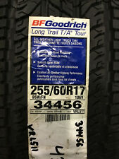 1 New 255 60 17 BFGoodrich Long Trail T/A Tour Tire