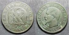 Napoléon III, 5 centimes 1855 A, TB à TTB