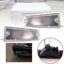 Front Bumper Lamp Signal Light Clear Len For Isuzu TF TFR Rodeo Pickup 1989-1997