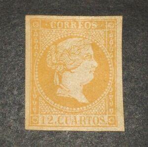 Spain 1859   12 cuartos  No Emitido NE1