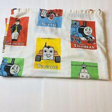 Vintage 1992 Britt Allcroft Limited Thomas the Train & Friends Twin Flat Sheet