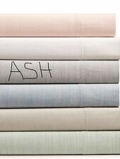 Hotel Collection Cotton 525-Thread Count 4-Pc Yarn-Dyed King Sheet Set Color Ash