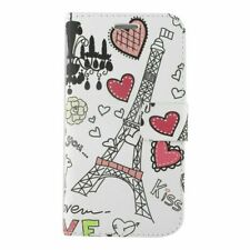 For Samsung Galaxy J7 (2018)/J7 Star/J7 V 2nd Gen (2018)Heart Tower Leather Case