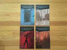 The Blair Witch Chronicles Complete Set. Issues #1 #2 #3 #4 Oni Press 2000 X