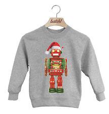 batch1 Navidad Juguete Robot CON GORRO PAPA NOEL INFANTIL Festivo Jersey