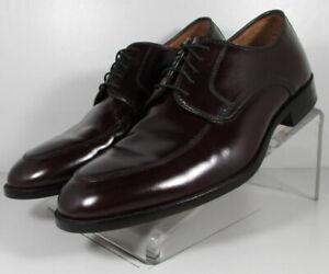 151774 ES50 Men's Shoes Size 9 M Burgundy Leather Lace Up Johnston & Murphy