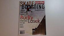 VTG BIG BROTHER SKATEBOARD MAGAZINE & STICKER LOT ISSUE 59 PAVEMENT BUCKY LASEK
