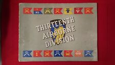 Rare WWII 13th Airborne Division unit history book - contains unit photos