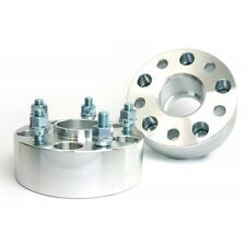2 Pcs Wheel Spacers 5X114.3 To 5X114.3 | 67.1 CB | 12X1.5 | 50MM For Evo 8 9 10