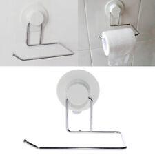 Toilet Paper Holder Bathroom Suction Hanger Tissue Rack Kitchen Towel Hook