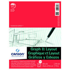 CANSON/FILA CO 100510894 FOUNDATIONS GRAPH AND LAYOUT CROSS SECTION 4/4 GRID ...