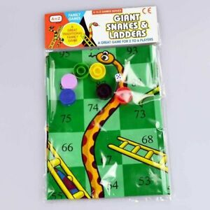 Giant Snakes & Ladders Fun Indoor Outdoor Traditional Family Leisure Game Age 3+