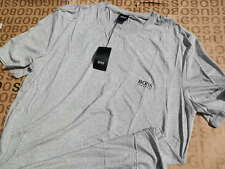 NUOVA Hugo Boss Da Uomo Designer Grigio Golf Tennis jeans bag SUIT T-shirt MEDIUM M