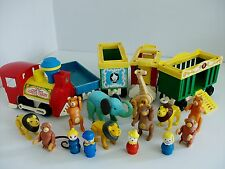 Vintage fisher price Circus Train et charges des animaux
